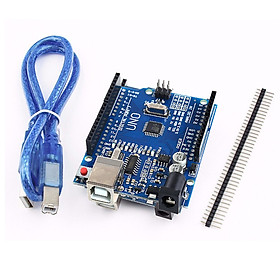 Bảng Mạch Điện Tử UNO R3 ATMEGA328P CH340G Kèm Dây Cáp USB