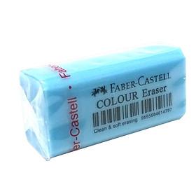 Bộ 4 Gôm Color - Size 48 - Faber-Castell 187205 - Màu Xanh