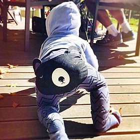 Children Cotton Pp Pants Cartoon Bear Trousers for Kids Baby Girls Boys