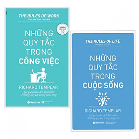 Combo sách kỹ năng hay ai cũng cần có :  Những quy tắc trong công việc + Những quy tắc trong cuộc sống - Tặng kèm bookmark thiết kế
