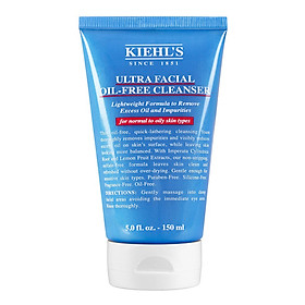 Kiehl's Ultra Facial Oil-Free Cleanser - Sữa rửa mặt cho da hỗn hợp, dầu