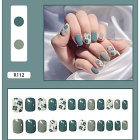 Bộ 24 móng tay giả nail thơi trang như hình (R112)
