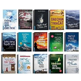 Combo sách Nguyên Phong trọn bộ đầy đủ (15 quyển) tặng bookmark cao cấp Bookcity