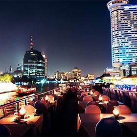 Bữa Tối Trên Du Thuyền White Orchid (Từ Bến Tàu River City Pier)