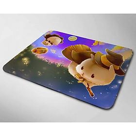 Miếng lót chuột mẫu Chuột Đội Nón Bay (20x24cm)