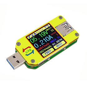 Đồng Hồ Đo Điện Áp RD UM34C USB 3.0 Với Màn Hình LCD Màu C