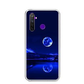 Ốp lưng dẻo cho điện thoại Realme 5 Pro - 0269 MOON02 - Hàng Chính Hãng