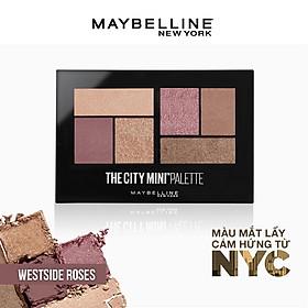 Bảng Phấn Mắt Maybelline New York 6 Màu The City Mini Palette 6.1g