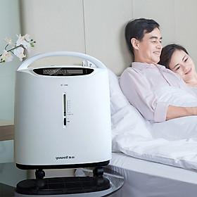 Máy tạo oxy nhỏ gọn độ ồn thấp Xiaomi Yuwell 3L 8F-3AW với máy thở oxy y tế