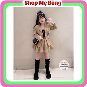 Set vest kèm chân váy bé gái 1-10 tuổi 1001VBG - Shop Mẹ Bông 92