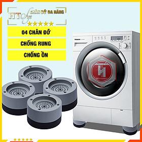 Bộ 4 đế chống rung, chống ồn máy giặt-HT SYS - Giao màu ngẫu nhiên