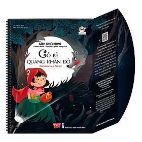 Sách Tương Tác - Sách Chiếu Bóng - Cinema Book - Rạp Chiếu Phim Trong Sách - Cô Bé Quàng Khăn Đỏ
