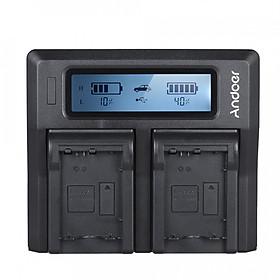 Bộ Sạc Pin LCD Máy Ảnh Cho Sony