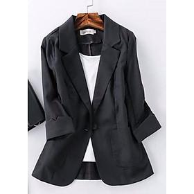 Áo Blazer Nữ Linen Tay Lỡ 5 Màu