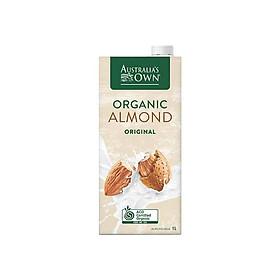 [Chỉ Giao HCM] - Sữa Hạnh nhân Có Đường Organic Australia's Own - hộp 1L