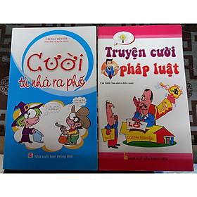 Combo 2 cuốn cười từ nhà ra phố + truyện cười pháp luật