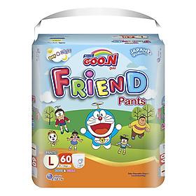 Tã Quần Goo.n Friend Gói Siêu Đại L60 (60 Miếng)