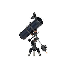 Kính thiên văn Astromaster 114EQ, chính hãng Celestron Mỹ, độ phóng đại lên đến 269x và khẩu độ 114mm