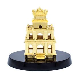 Biểu tượng Tháp Rùa mạ vàng