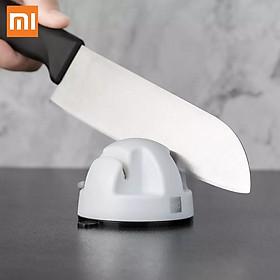 Máy mài dao đôi bánh xe mini Xiaomi Huohou, Máy mài đá hút PVC làm sắc nét kép, Dụng cụ đá mài cho nhà bếp