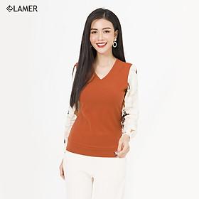Áo len phối thân LAMER L61W20T032