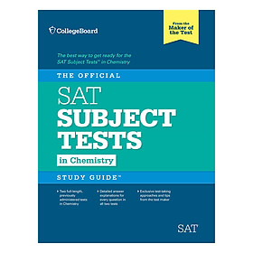 The Official SAT Subject Tests in Chemistry