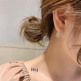 Bông tai nữ bạc ta, Màu Bạc và BẠc Xi VÀng siêu HOT HIT siêu cá tính - Bạc Nomi