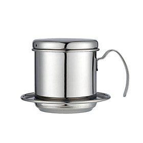 Vietnamese Coffee Filter Stainless Steel Vietnamese Coffee Maker Portable Coffee Drip Maker Gravity Insert for Office