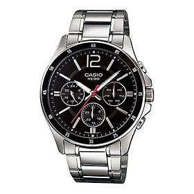 Đồng hồ nam dây kim loại Casio Standard chính hãng MTP-1374D-1AVDF (43mm)