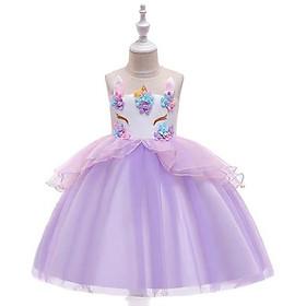Đầm váy pony hoa - Đầm váy công chúa cho bé gái cực xinh
