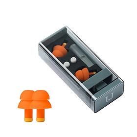 Xiaomi Youpin Jordan Judy Soundproof Earplugs Mute Professional Noise Reduction Light Soft Silicone Sleeping Foam Travel