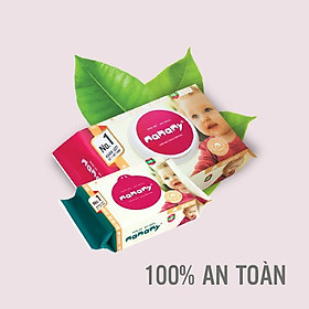 Combo 5 gói giấy ướt không mùi Mamamy mẫu mới nhất (Gói 100 tờ)-1