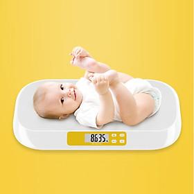 Cân trẻ em điện tử tải trọng 20kg cao cấp (CHÍNH XÁC, AN TOÀN, TIỆN LỢI)- Tặng bộ 100 miếng dán dạ quang hình ngôi sao