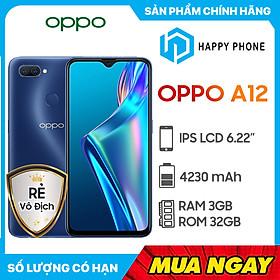 Điện Thoại Oppo A12 (3GB/32GB) - Hàng Chính Hãng- Đã kích hoạt bảo hành điện tử
