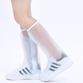 Ủng, Túi PVC Bọc Giày Đi Mưa Cao Cổ Có Đế Chống Trơn ALUVI TDM02 | Chống Nước, Chổng Bẩn Tuyệt Đối