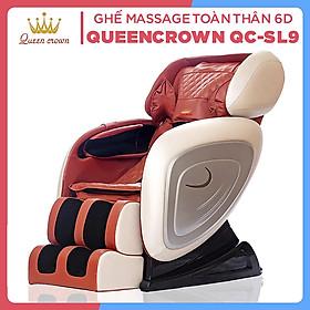 Ghế Massage Toàn Thân Công Nghệ Nhật Bản QUEEN CROWN QC-SL-9 6D