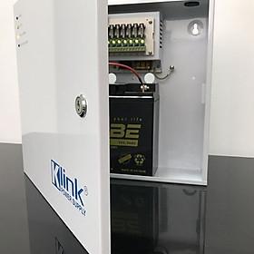 Bộ cấp nguồn điện dự phòng, hàng chính hãng Klink dành cho hệ thống 8 camera và đầu ghi