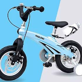 """Xe đạp khung hợp kim Magie bánh 12"""" cho bé 2 - 4 tuổi"""