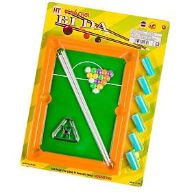 Đồ chơi bàn bida mini cho trẻ em (cỡ to) HT-7603