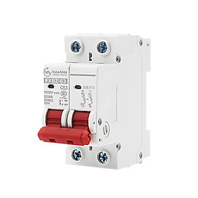 Át 1 chiều VaneAims 1000V DC bảo vệ quá tải cho pin năng lượng mặt trời 16A 25A/32A 40A/63A
