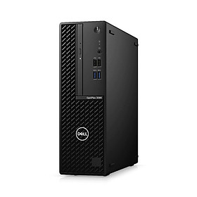 Máy bộ Dell Optiplex 3080SFF- 10500-4G1TB (Cpu i5-10500, Ram 4GB, Hdd 1TB, VGA Graphics 630, DVDRW, Mouse,Keyboard,) - Hàng chính hãng
