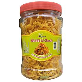 Chà Bông Gà Cay Loại Đặc Biệt Sợi Nhỏ Hiệu SK FOOD - Hũ 100G