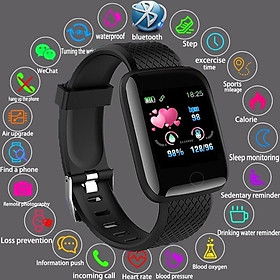 2020 Smart Bluetooth Watch IP67 Waterproof Sport Bracelet Heart Rate Blood Pressure Sleep Monitor Fitness Tracker Smartband Alarm Clock Call SMS Sedentary Reminder Wristband Multi Sport Pedometer Activity Tracker Smart Wearable Device for All