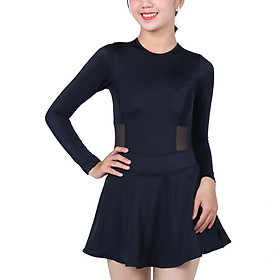 Bikini 1 Mảnh Monica Tay Dài BIT 3009 - Đen (Free Size)
