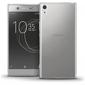 Ốp lưng dẻo silicon Ultra Thin cho Sony Xperia XA1 Ultra mỏng 0.6 mm (trong suốt) - Hàng chính hãng