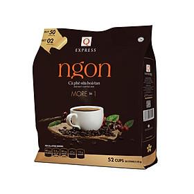 Cà phê hòa tan 3 in 1 Q Express Ngon (52 sticks x 20g) Trần Quang