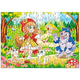 Tranh Xếp Hình Jigsaw Puzzle 104 Pieces - Cô Bé Quàng Khăn Đỏ