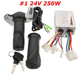 250W 24V Bürstenmotor Controller Steuereinheit Gasgriff Für Elektro Scooter