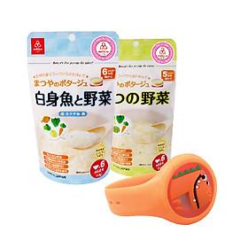 Combo 2 gói cháo gạo koshihikari ăn dặm Matsuya - tặng vòng đeo đuổi côn trùng