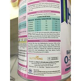 Sữa bột Hovana Baby hỗ trợ tiêu hóa cho bé từ 0 đến 12 tháng 900gr-1